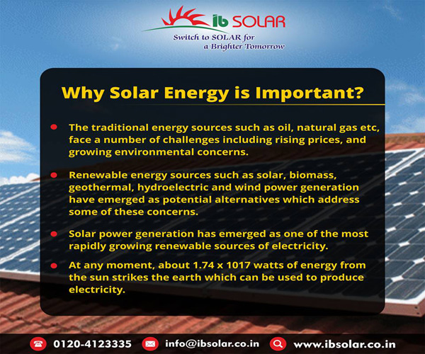 Why Solar Energy is Important?