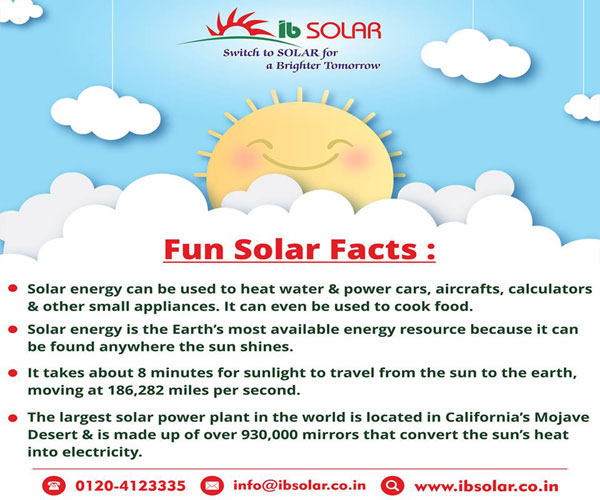 Fun Solar Facts
